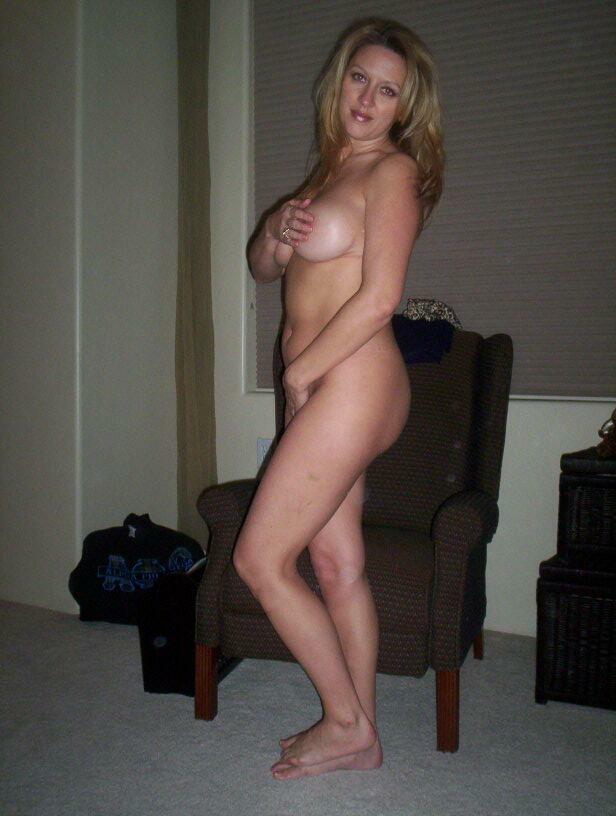 Woman clothed then naked