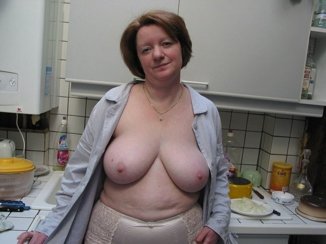 big tits mature milf