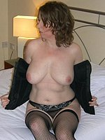 in pantyhose mature pantyhose fingering her