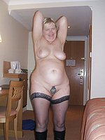Lady Mature Group Double 78