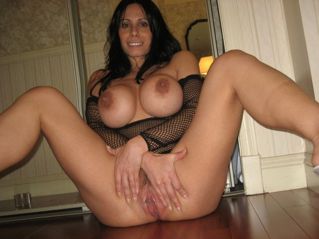 mature spread eagle naked
